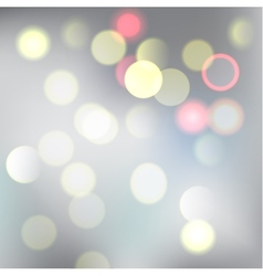 Bokeh lights vector image vector image