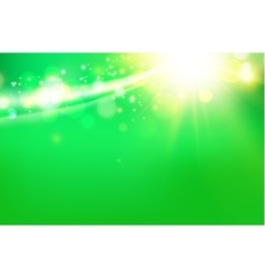 Abstract green cover vector