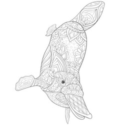 Platypus Coloring Book Vector Images (33)