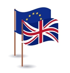 Brexit of the eruropean union design vector