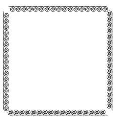 frame black 4 1912 vector image