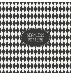 Geometric monochrome hipster line seamless pattern vector image
