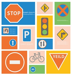 Icon Trafic Situation vector