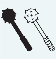 Iron mace vector