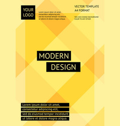 layout modern design template abstract background vector image