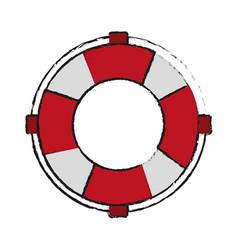Life preserver belt icon image vector