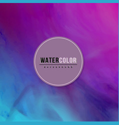 modern watercolor background vector image