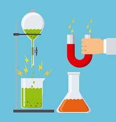 science concept vector image