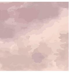 Tender violet watercolor vector