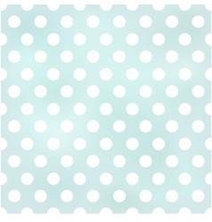 seamless retro polka dots background vector image