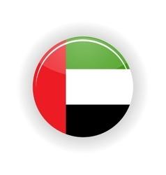 United Arab Emirates icon circle vector image