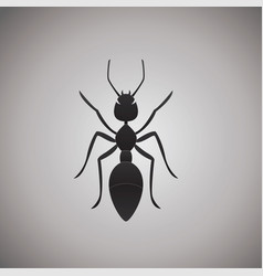 Ant ideas design on background vector