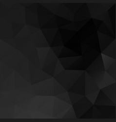 black background geometrical modern design vector image