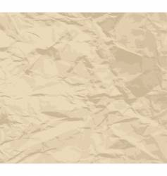 Crinkled paper texture vector