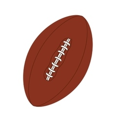 football american ball icon vector image