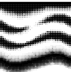 abstract halftone vector image vector image
