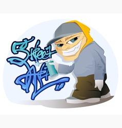 Graffiti Artist vector image