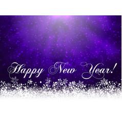 purple winter backround vector image vector image