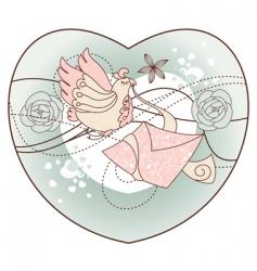 romantic illustration vector image