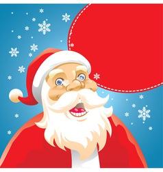 Santa head vector