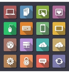 Web icons set Flaticons series vector image vector image
