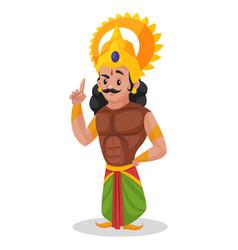 Arjuna cartoon character vector