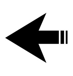 arrows symbol vector image