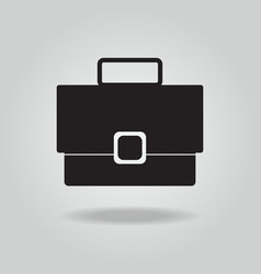 briefcase icon bag icon vector image