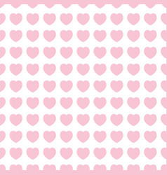Cute hearts icons background design vector