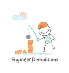 Engineer Demolitions destroys the tower of vector