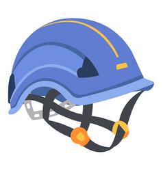 helmet icon flat style vector image