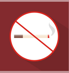 no smoking icon set of great flat icons with vector image