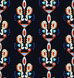 patterned style ethnic vector image