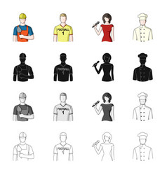 profession hobby education and other web icon vector image