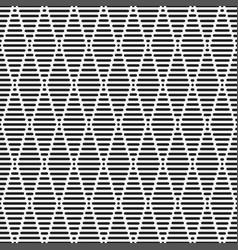 Seamless geometric pattern striped texture vector