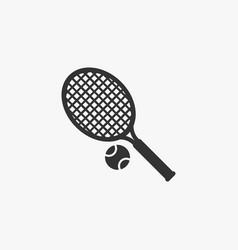 Tennis icon vector