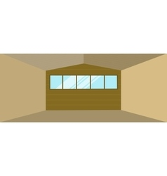 Warehouse Hangar Building vector image