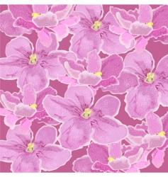 violets vector image vector image
