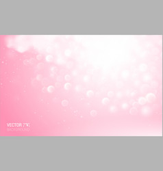 Abstarct pink lights effect elements background vector