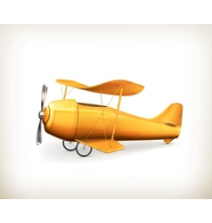 Aircraft icon vector