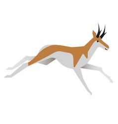 Antelope flat vector