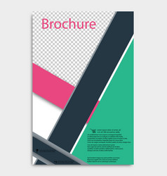 Brochure design corporate business template for vector