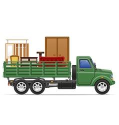 cargo truck concept 10 vector image