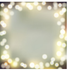 christmas bokeh background vector image