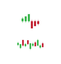 Forex market icon vector