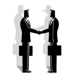 fraud agreement concept vector image