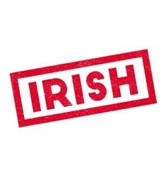 Irish rubber stamp vector
