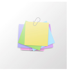 Isolated sticky note vector