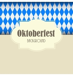 Oktoberfest Blue Background vector