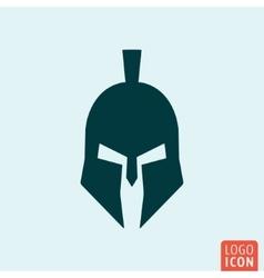 Trojan helmet icon vector